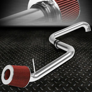 For 01 05 Honda Civic Ex 1 7l Lightweight Cold Air Intake System Red Cone Filter