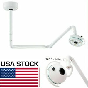 Dental Medical 36w Led Ceiling Mounted Exam Cold Light Shadowless Lamp 800mm Us