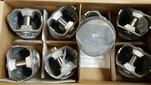 Ford 351 Windsor Forged Pistons Dome L2442f Standard Bore Set Of 8