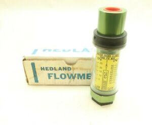 Hedland 713025 Variable Area Flow Meter 0 25gpm
