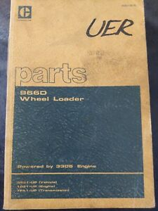 Cat Caterpillar 966d Wheel Loader Parts Book