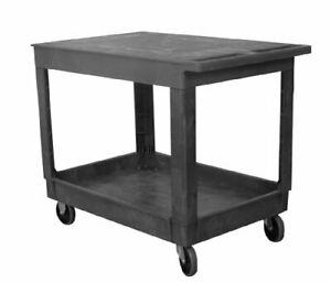 Industrial Products 270493 Plastic Flat top Standard Service Cart 2 1 pack