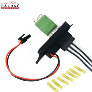 Ac Fan Heater Blower Motor Resistor Front For Chevy Gmc Cadillac Pickup Truck