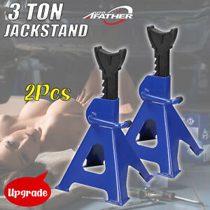 Pair Racing Jack Stands 3 Ton 6 000 Lb Heavy Duty For Van Car Truck Auto Lift Us