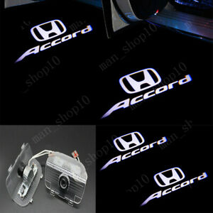 2x 3d Car Door Led Ghost Logo Projector Puddle Lights For Honda Accord 2013 2020