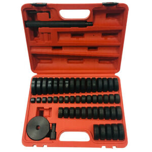 51pcs Bushing Driver Set Wheel Axle Bearing Race Seal Installer Remover Tool Kit