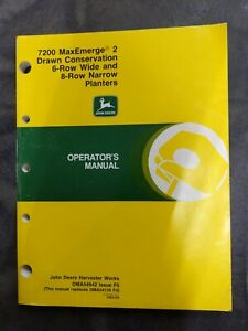 John Deere 7200 Maxemerge 2 Drawn Conservation 6 row Wide And 8 row Narrow