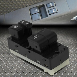 For 06 20 Nissan Frontier Ext Cab Driver Side Master Power Window Control Switch
