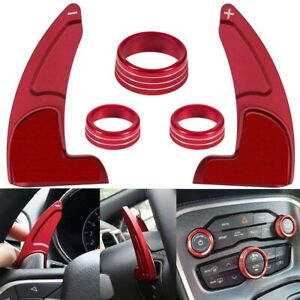 Steering Wheel Shift Paddle Shifter Extension For Dodge Charger Rt Scat Pack 15