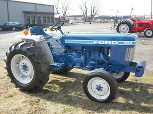 Ford 1910 Tractor Hood Decal Blue White