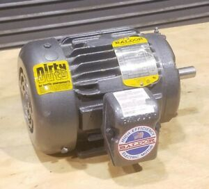 M8003t Baldor 1hp Tefc Electric Motor 1725 Rpm 143t Frame 208 460vac 3 phase New