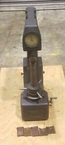 Wilson Rockwell 4jr bb B C Scale Hardness Tester In Good Condition Free Ship