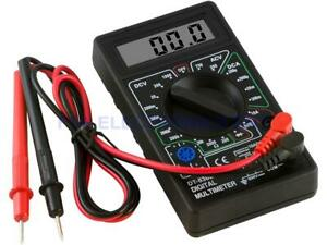 Digital Lcd Display Ac dc Tester Voltmeter Ammeter Ohm Diode Digital Multimeter