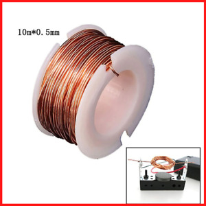 Magnetic Coil Winding Enameled Making Electromagnet Motor 10m Magnet Wire 0 5mm