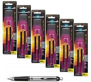 Uni ball Signo Impact 207 Rt Retractable Refills Black Ink 1 0 Mm Bold Point