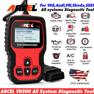 All System Abs Srs Obd2 Scanner Dpf Oil Epb Reset Diagnostic Tool For Vw Audi