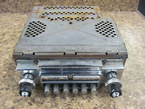 1956 56 Ford Thunderbird Town Country Radio Core 69ms 15077 Parts Repair