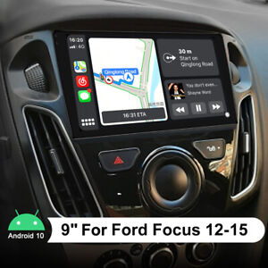 9 Inch For 2012 2015 Ford Focus Radio Upgrade Support Optical Coaxial Output