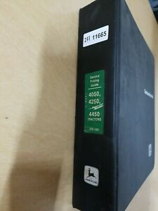 John Deere 4050 4250 And 4450 Tractors Service Pricing Guide