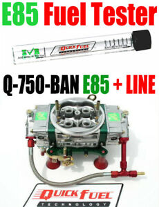 Quick Fuel Q 750 e85 Ban Annular Mech Blow Thru With 6 Line Kit Free Test Tube