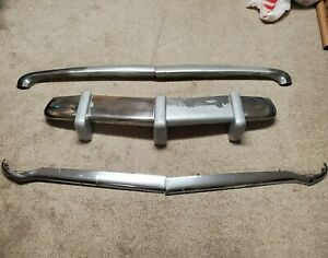 1951 Plymouth Grill Chrome Trim Complete Teeth Bars Hot Rod Rat 1952 Stainless