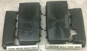 Ford Mustang 05 09 Raw V8 Plenum Fuel Rail Covers Gt Or Plain You Choose