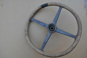 1920 s 1930 s Antique Vintage Classic Automobile Wooden Steering Wheel