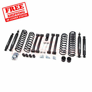 Zone Offroad 4 Lift Kit For 93 98 Jeep Grand Cherokee Zj 4wd Gas Nitro Shocks