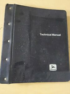 John Deere Jd300 Loader And Backhoe Loader Technical Manual