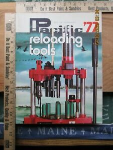 pacific reloading tools 1977 catalog $9.99