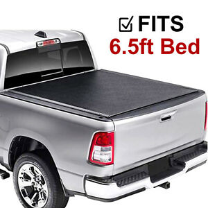 For 2007 2013 Chevy Silverado Gmc Sierra 6 5ft Bed Soft Roll Up Tonneau Cover