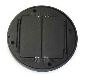 Hubbell Wiring Device kellems S1tfcbl Floor Box Cover Tile Flange black