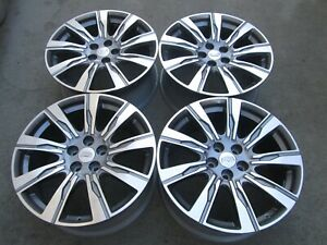 20 Factory Wheels Rims 2020 Cadillac Xt4 Ct5 Ct6 Cts Oem Machined 4826 Set