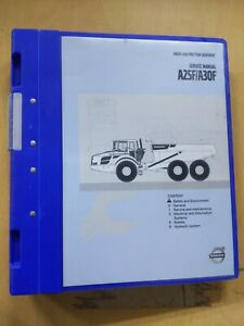 Volvo Construction Equipment A25f a30f Service Manual