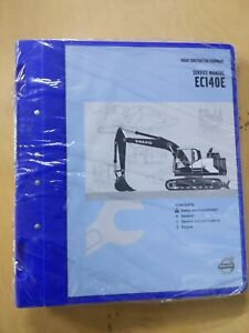 Volvo Construction Equipment Ec140e Service Repair Manual 7 Vol Set Factory Oem