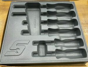 Snap On Tools New Pakty061 6 Pc Combination Screwdriver Set Tray No Tools