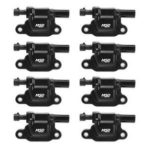 Msd 826583 Ignition Coil 99 09 Gm Truck Engines Black 8 pack