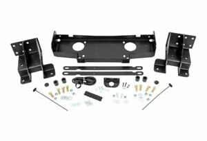 Rough Country Hidden Winch Mounting Plate For 14 20 Grand Cherokee 10602