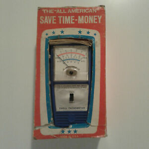Vintage The All American American Dwell Tachometer 549