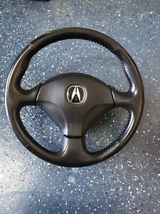 Rsx Steering Wheel Type S Black Leather Oem Ep3 Jdm Type R