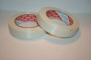 Filament Reinforce Strapping Tapes Tape 1 x 60yds 55m X 2 Rolls