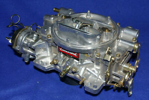 Like New 600cfm Edelbrock carter Afb 1406 350 383 400 1405 9625 9635 1412