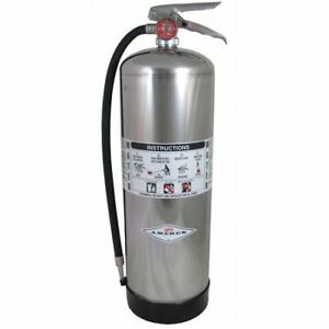 Amerex 240 Fire Extinguisher 2a Water 2 5 Gal