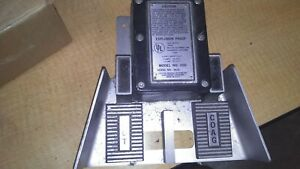 Electro Medical Systems Model 200 Hyfrecator Foot Pedal Set Guarentee