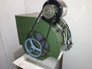 Oil Furnace Blower Motor Fan Housing Assembly 1 3hp Ac Motor Tested