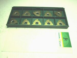 Tool flo 2414542 L53 438 Int Gp50f Carbide Threading Inserts Pack Of 10