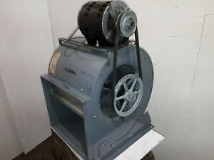 Oil Furnace Blower Motor Fan Housing Assembly 1 4hp Ac Motor Tested
