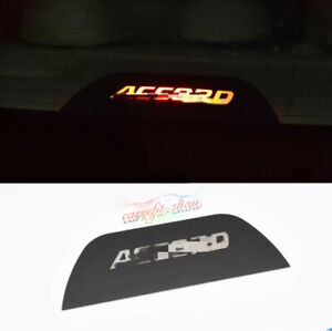 For Honda Accord 2014 2017 Rear High Level Brake Light Projection Decorate Board
