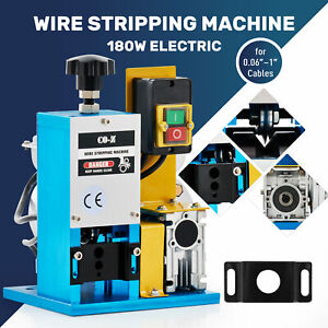 Electric Wire Stripping Machine Copper Cable Peeling Stripper Metal Tool Recycle