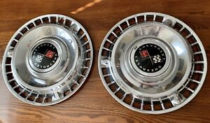 1961 61 Chevrolet Chevy Impala Bel Air Nomad Vintage Hubcaps Wheel Covers